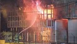 Incendie de Cellocal : trois mineurs en garde à vue