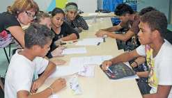 Les élèves élus apprennent  à être délégués