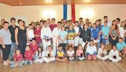 Les jeunes sportifs bouraillais mis à l'honneur