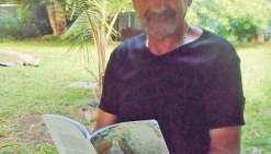 Patrick Zaoui, romancier à Canala