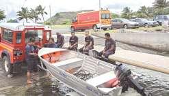 Les pompiers se préparent aux périodes cycloniques