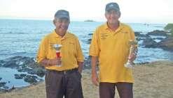 Les champions vétérans de pétanque du Nord