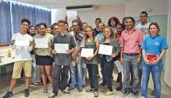 Des mini-entrepreneurs généreux au lycée du Grand Nouméa