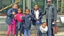 Onze enfants drehu de CE2 et CM2 sont pour trois semaines en Métropole avec leurs enseignants. Photo ALP