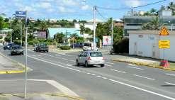 Nouméa : du changement sur la route de l'Anse-Vata