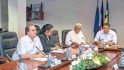 Visite du nouveau président de l'assemblée de Wallis-et-Futuna