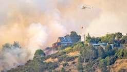 Christchurch en proie aux flammes