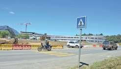 Futur lycée : le chantier du giratoire a redémarré