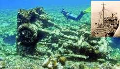 Deux épaves américaines découvertes au fond du lagon