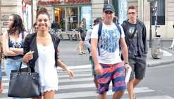 Les étudiants découvrent Paris