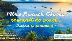 Après Chuck Norris à Maré, Barack Obama à Lifou ?