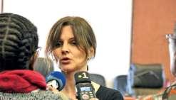 Chahutée par l'avocat général, mardi, Me Moresco ne s'est pas privée de critiquer le parquet général pour son « manque de courage ». Ph. J.-A.G.-L.