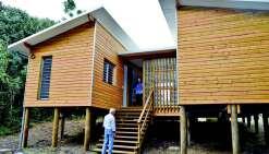 Le pavillon tropical Nord du FSH sera habillé de bois