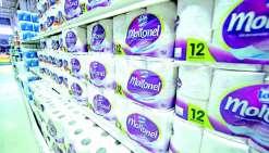 Nouvelles importations de papier-toilette