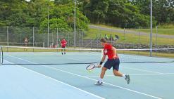 Record de participation  au festival de tennis