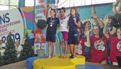 Ylenka Maurin décroche le titre de championne de France jeunes