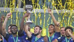 Les Bleuets étrillent l'Italie en finale de l'Euro