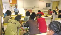 Prévention sur les stupéfiants au collège Paï-Kaléone