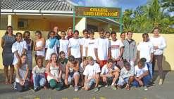 Les collégiens ouvrent  une nouvelle voie chez les Kiwis