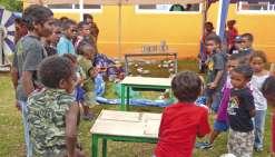 Quatre écoles primaires de Lifou font la fête ensemble
