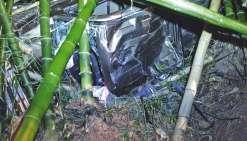 La chute dans un ravin, près de la tribu d'Emma à Canala, a coûté la vie à un homme de 51 ans. Le conducteur devrait être bientôt entendu pour déterminer les causes de l'accident.