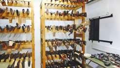 198 armes à feu et 12 431 munitions saisies