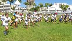 Soixante jeunes ont foulé la pelouse de l'hippodrome
