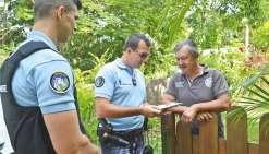 Les gendarmes sensibilisent les habitants aux cambriolages
