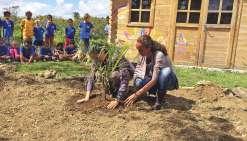 Un jardin en l'honneur du petit Djayan