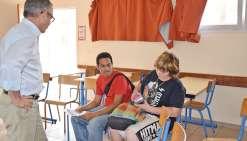 Un forum des métiers avec vue sur le lycée
