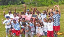 Les petits chefs de Lifou  remportent le premier prix