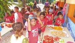Les maternelle de Nouméa en immersion à Lifou