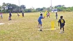 150 élèves pour un tournoi de cricket
