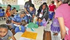 Les tout petits de Maré fêtent aussi la science à l'école d'Atha