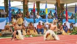 Le président du gouvernement calédonien Philippe Germain et le ministre des Affaires étrangères de la Nouvelle-Zélande Murray McCully, ont signé « le plan conjoint de coopération » samedi en marge du sommet du Fip.