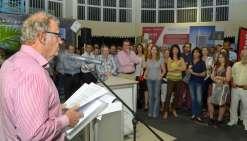 Le forum a été inauguré hier soir au Salon des artisans par Philippe Demazel, directeur général des Nouvelles Calédoniennes, et Philippe Dunoyer, conseiller de gouvernement.