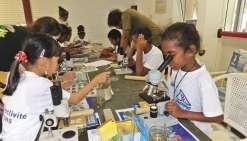 Les jeunes Kunié ont  rendez-vous avec la science