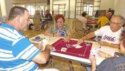 Une compétition de tarot  au long cours