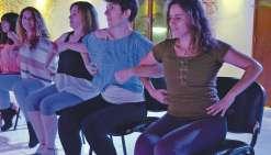 Avenue de la salsa tente le cabaret entre filles