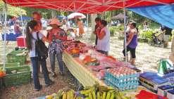 Le grand marché paysan posera ses étals à Nessadiou