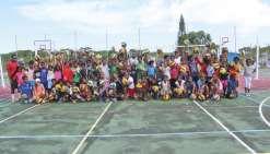 Le collège de Hnaizianu détecte de futurs volleyeurs