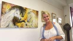 Caroline Degroiselleou la passion des chevaux
