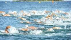 Championnats d'eau libre à Nouméa