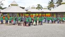 Une tenue commune au collège de Tadine