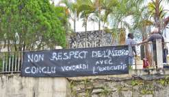 La situation s'enlise  à la mairie de Ouégoa