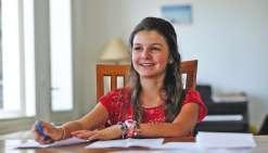 Alix, 11 ans, prodige du calcul