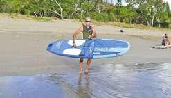 Trois jours pour rallier Nouméa et Bourail en paddle