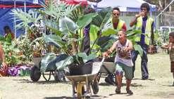 Le Salon de l'horticulture soigne  la présentation de ses vitrines