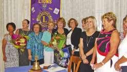 Laurène Cassagne intronisée au Lions club