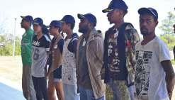 Neuf adolescents ont vécuau rythme de la vie militaire